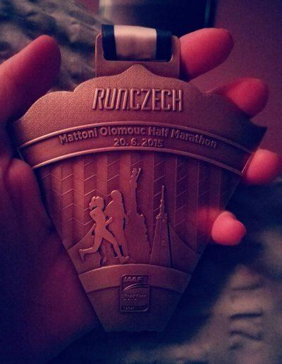 Prvni pulmaraton medaile