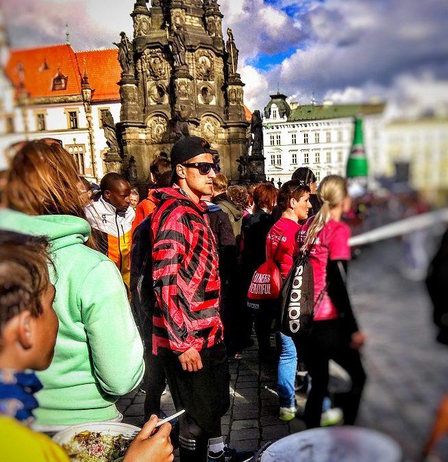 Olomoucký půlmaraton trochu jinak