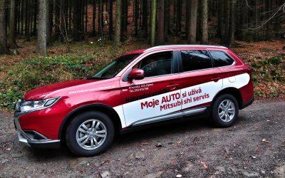 Mitsubishi Outlander – medvěd, se kterým se nebudete bát do lesa