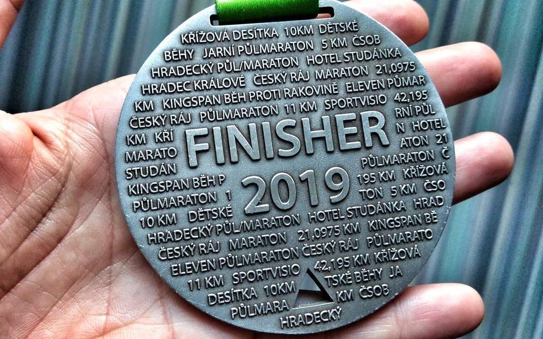 Jarní půlmaraton 2019: tohle jsem faaakt nečekala